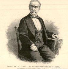 Arte: 1894 - AURELIANO FERNANDEZ GUERRA Y ORBE - LA ILUSTRACIÓN ESPAÑOLA. Lote 211684768
