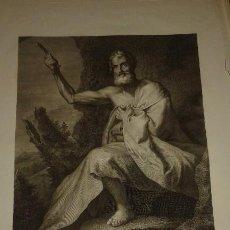 Arte: ANDOIN PIERRE GRABADO SAN BARTOLOME 1798. Lote 211811302