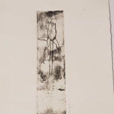Arte: PEQUEÑO GRABADO FIRMADO Y NUMERADO A LAPIZ EL N° 17 DE 25 MIDE 16 X 27.5 DESCONOZCO LA FIRMA. Lote 211824506