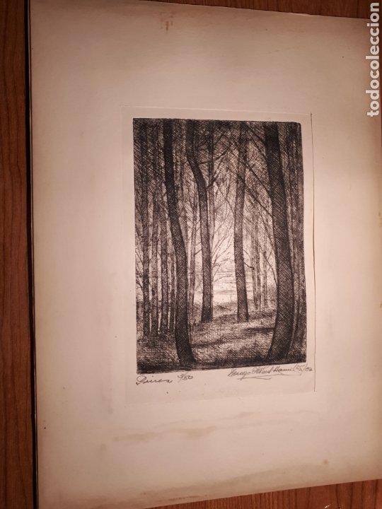 Arte: HUGO ONEILL HAMILTON. NUEVE AGUAFUERTES ORIGINALES.TIRADA DE 50, FIRMADOS Y NUMERADOS. - Foto 6 - 211919595