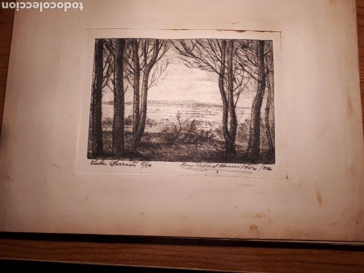 Arte: HUGO ONEILL HAMILTON. NUEVE AGUAFUERTES ORIGINALES.TIRADA DE 50, FIRMADOS Y NUMERADOS. - Foto 8 - 211919595