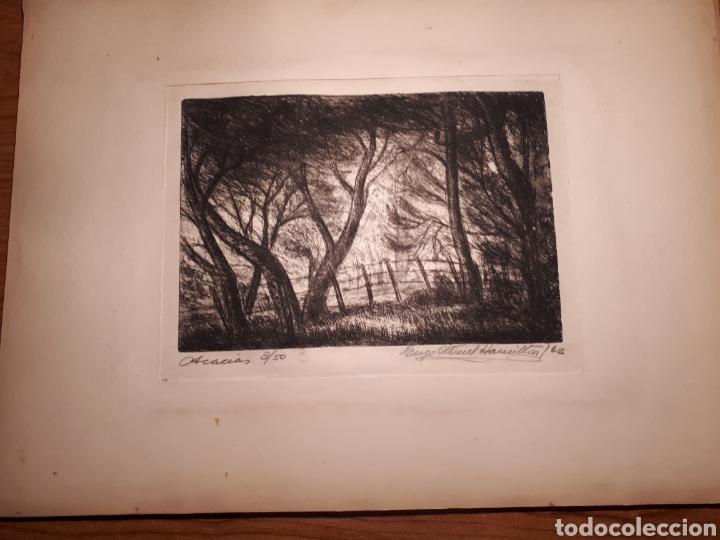 Arte: HUGO ONEILL HAMILTON. NUEVE AGUAFUERTES ORIGINALES.TIRADA DE 50, FIRMADOS Y NUMERADOS. - Foto 10 - 211919595