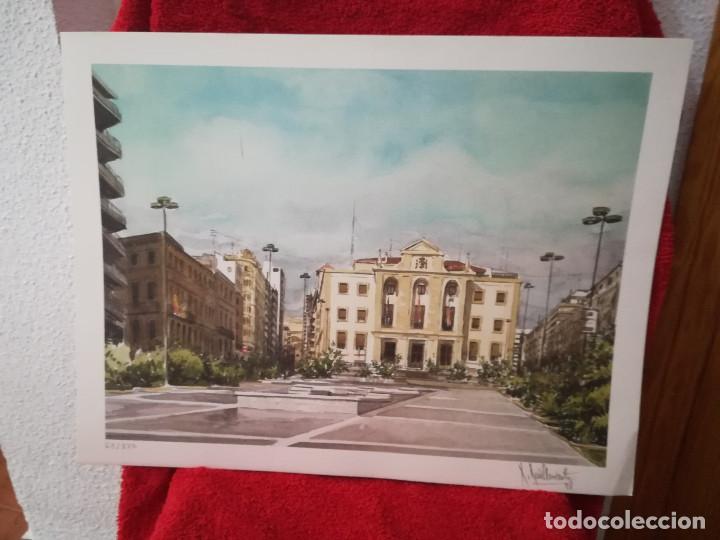 Arte: GRABADO DEL PINTOR ALICANTINO ROBERTO RUIZ MORANTE - Foto 4 - 211946020