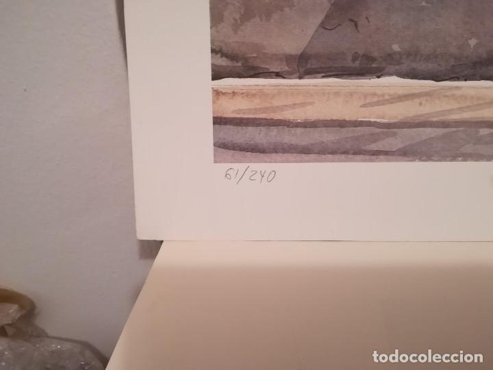 Arte: GRABADO DEL PINTOR ALICANTINO ROBERTO RUIZ MORANTE - Foto 5 - 211947260