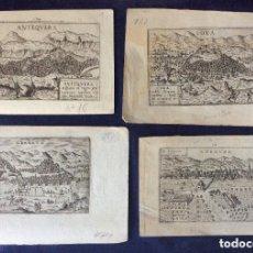 Arte: LOXA-CORDVBA-ANTEQUERA -GRANATA,GRABADOS ORIGINALES SIGLO XVI-XVIII-IDEAL COLECCIONISTAS. Lote 212052361