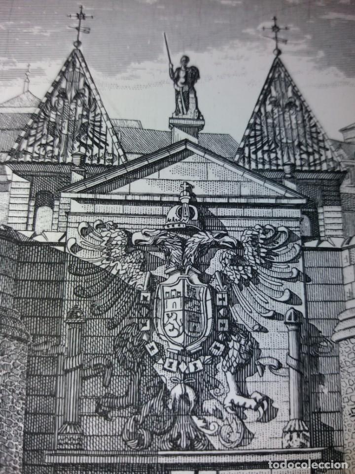 Arte: TOLEDO - PUERTA DE LA BISAGRA - Grabado calcografico RCM- FNMT.- VER FOTOGRAFÍAS EN DESCRIPCIÓN - Foto 3 - 212122731