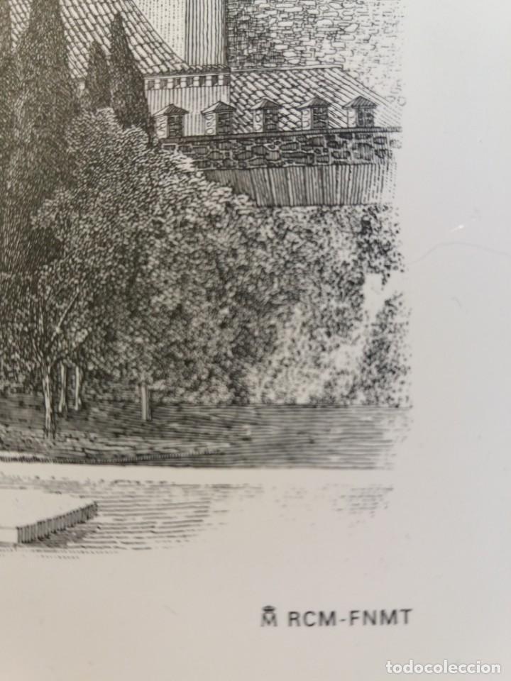 Arte: TOLEDO - PUERTA DE LA BISAGRA - Grabado calcografico RCM- FNMT.- VER FOTOGRAFÍAS EN DESCRIPCIÓN - Foto 4 - 212122731