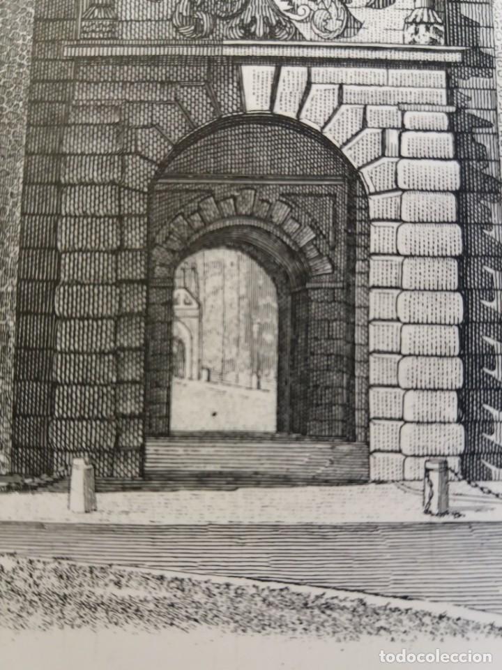 Arte: TOLEDO - PUERTA DE LA BISAGRA - Grabado calcografico RCM- FNMT.- VER FOTOGRAFÍAS EN DESCRIPCIÓN - Foto 8 - 212122731