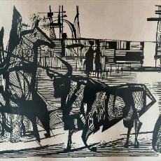 Arte: PENTTI NÄSSLING (FINLANDIA 1934) GRAN OBRA GRÁFICA ORIGINAL NUMERADA Y FIRMADA. Lote 212188960