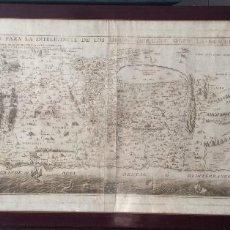 Arte: MAPA TIERRA SANTA,SITUACION DE TIERRA DE PROMISION PARA LA INTELIGENCIA DE LOS LIBROS SAGRADOS. Lote 212505083