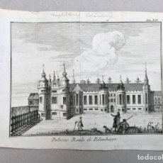 Arte: GRABADO ANTIGUO SIGLO XVIII HOLYROOD EDIMBURGO ESCOCIA GRAN BRETAÑA 1743 THOMAS SALMON. Lote 212528915