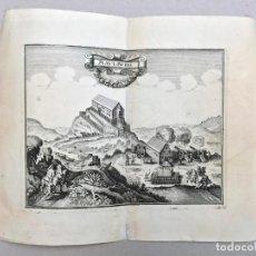 Arte: GRABADO ANTIGUO SIGLO XVIII MAULBURG ALEMANIA [1720] ANÓNIMO. Lote 212529192