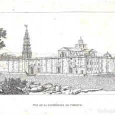 Arte: GRABADO DEL SIGLO XIX DE LA CATEDRAL Y MEZQUITA DE CÓRDOBA. Lote 112504027