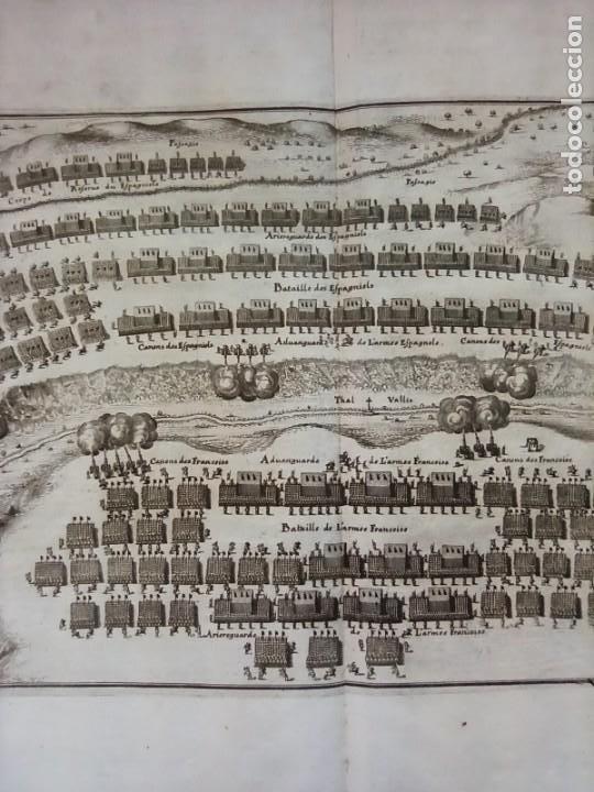 Arte: GRABADO BATALLA LÉRIDA, LLEIDA, CATALUÑA, 1642, GUERRA SEGADORES, ORIGINAL1648.MERIAN,FRANKFURT. - Foto 4 - 212544371