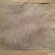 Arte: GRABADO DE MONTSERRAT DE 1601. Lote 212549936