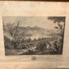 Arte: 1796 CALCOGRAFÍA NACIONAL GRABADO SERIE ARTILLERÍA VOLANTE. Lote 212614898