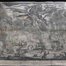 Arte: GRABADO ANTIGUO AFTER JACQUES CALLOT, DE PETRUS PICAULT BLESENSIS. Lote 213000551