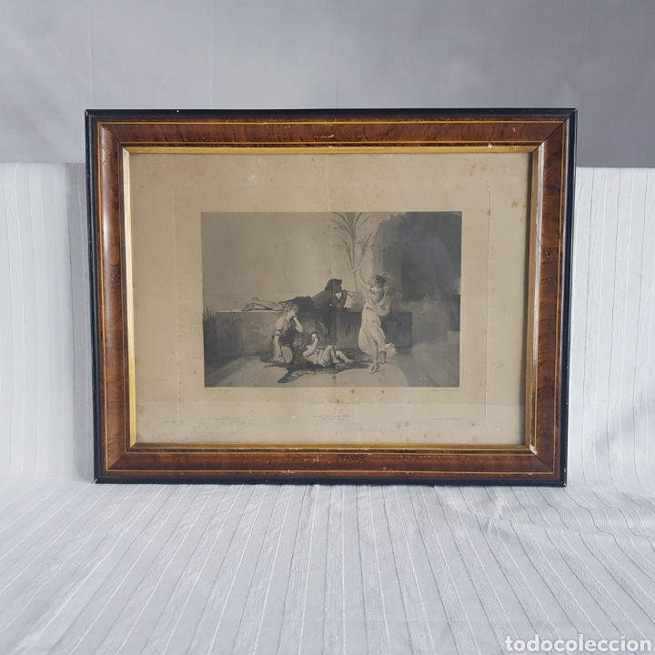 Arte: Danza Pompeyana por Coupil & Co. Siglo 19 - Foto 5 - 213064498