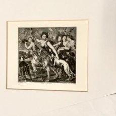 Arte: NUMULITE * GRABADO FÁBRICA NACIONAL DE MONEDA Y TIMBRE DIANA CAZADORA DE RUBENS. Lote 213281628