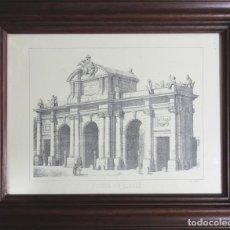 Arte: GRABADO MADRID PUERTA DE ALCALA. Lote 213300898