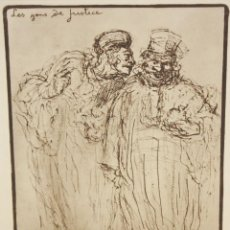 Arte: HONORE DAUMIER (MARSELLA, 1808 - VALMONDOIS, 1879) AGUAFURTE NUMERADO.. Lote 213499231