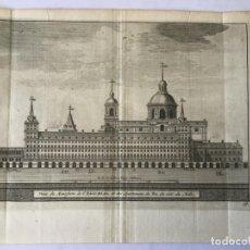 Arte: GRABADO ANTIGUO. APARTAMENTOS DEL REY MONASTERIO EL ESCORIAL (MADRID, ESPAÑA) VAN DER AA AÑO 1715. Lote 213608702