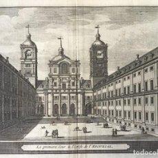 Arte: GRABADO ANTIGUO. PATIO MONASTERIO EL ESCORIAL (MADRID, ESPAÑA) VAN DER AA DELICES ESPAGNE. AÑO 1715. Lote 213609437