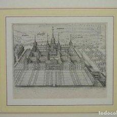Arte: VISTA DEL MONASTERIO DE EL ESCORIAL (MADRID, ESPAÑA), HACIA 1600. P. BERTIUS. Lote 213698166