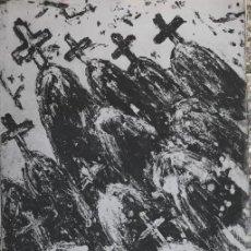 Arte: GRABADO DE VICTOR MIRA - FIRMADO Y NUMERADO A LÁPIZ. Lote 213703865