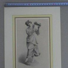 Arte: BAILARINA DEL VINO, HACIA 1850. W. FRENCH. Lote 213863611