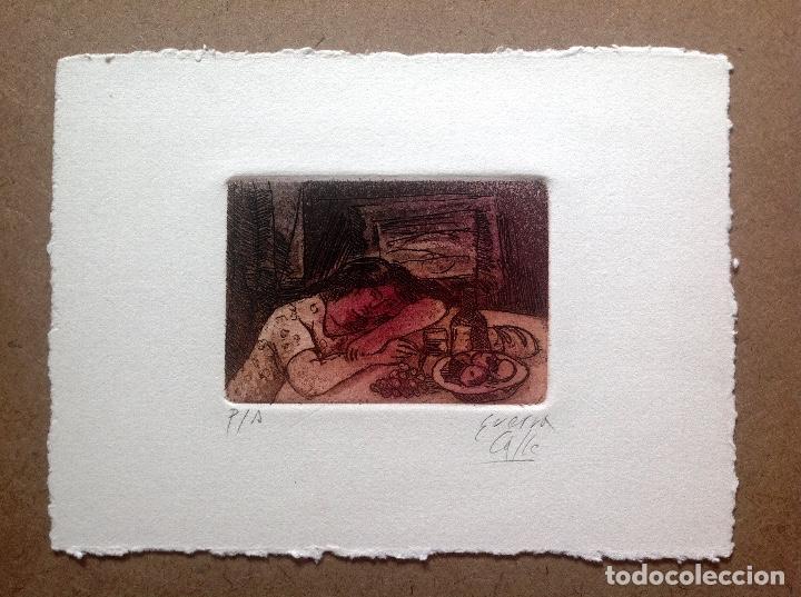 GUERRA CALLE GRABADO (Arte - Grabados - Contemporáneos siglo XX)