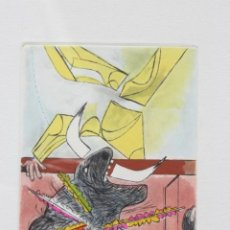 Arte: JOSÉ CABALLERO (HUELVA 1913/MADRID 1991) GRABADO DE 27,5X38 (PAPEL) ENMARCADO VITRINA 37X51.127/180.. Lote 214535546