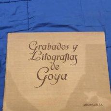 Arte: GRABADOS Y LITOGRAFIAS DE GOYA 1928. Lote 215973347