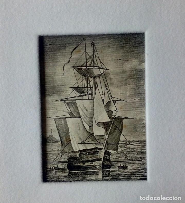 Arte: Tarjeta Navideña Luis Carrero Blanco enmarcada - Foto 2 - 216687470