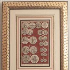 Arte: MEDALS OF KING WILLIAM III PLATE XXI - J. BASIRI. Lote 216790962