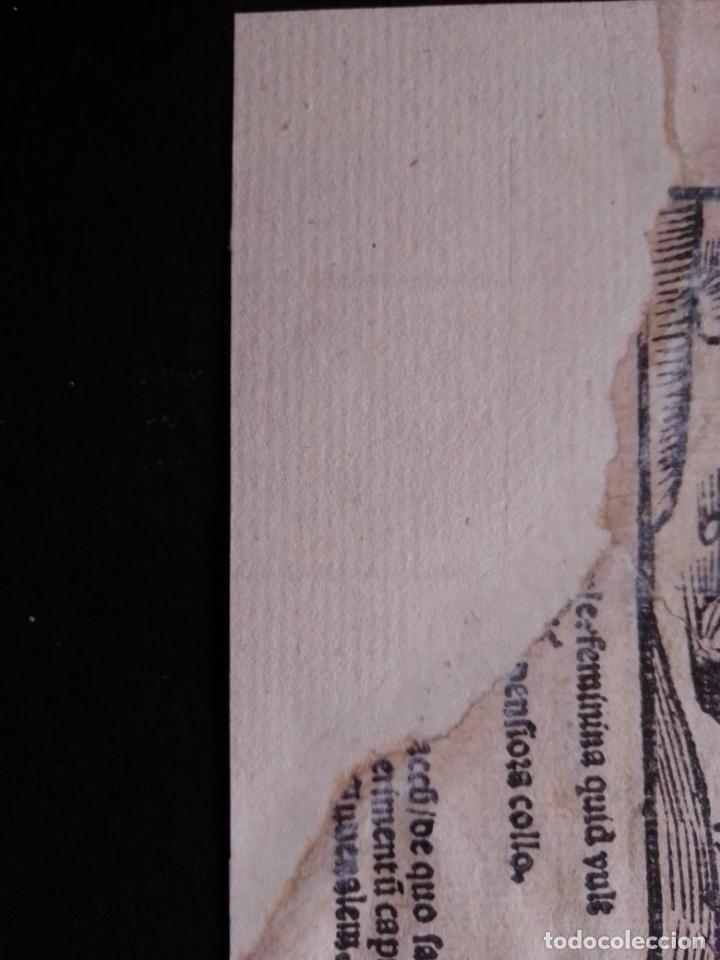 Arte: XILOGRAFÍA. STULTIFERA NAVIS. SEBASTIAN BRANT. DURERO. Incunable. GRABADO. NAVE DE LOS LOCOS - Foto 3 - 216867535