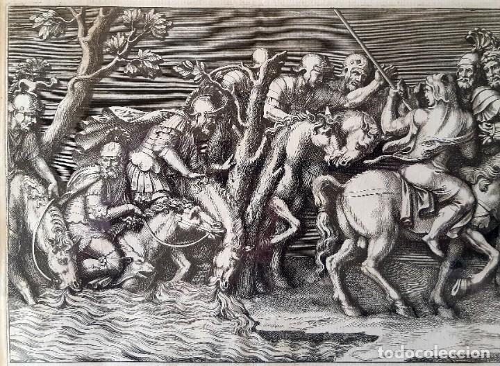 Arte: 2 Grabados Italianos del Siglo XVIII. Escenas Clásicas - Foto 5 - 216955708