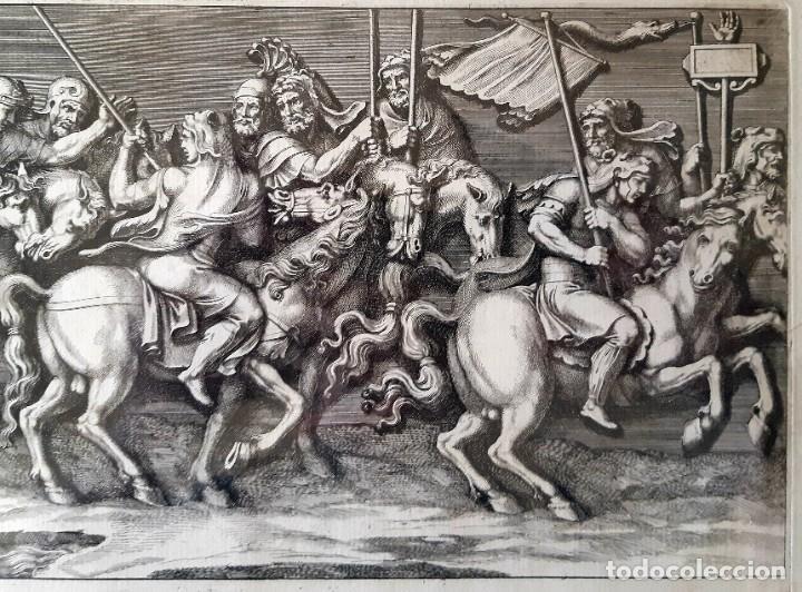 Arte: 2 Grabados Italianos del Siglo XVIII. Escenas Clásicas - Foto 6 - 216955708