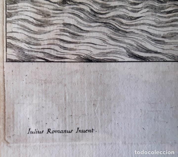 Arte: 2 Grabados Italianos del Siglo XVIII. Escenas Clásicas - Foto 7 - 216955708