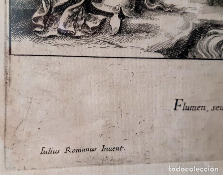 Arte: 2 Grabados Italianos del Siglo XVIII. Escenas Clásicas - Foto 14 - 216955708