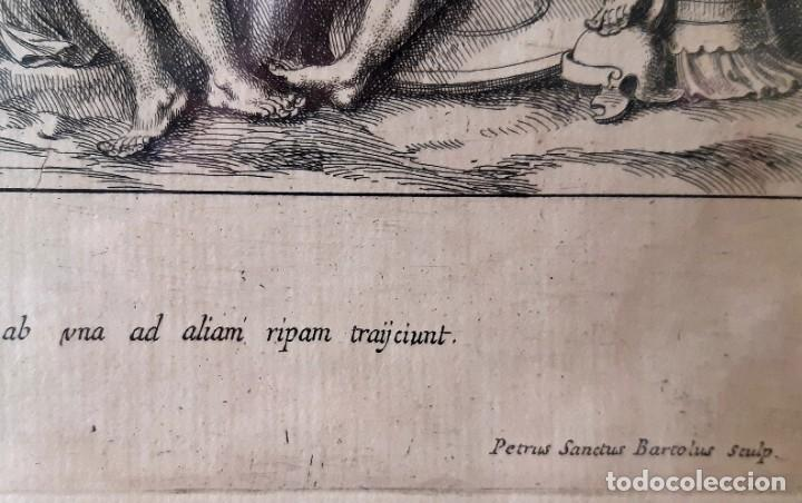 Arte: 2 Grabados Italianos del Siglo XVIII. Escenas Clásicas - Foto 15 - 216955708