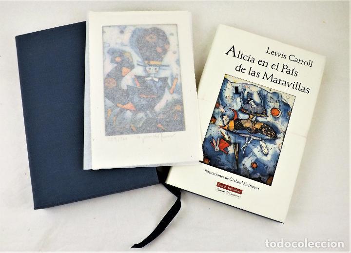Arte: Alicia en el país de las maravillas + Grabado original de Gerhard Hofmann - Foto 2 - 217015855