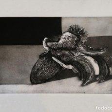 Arte: OBRA DE LUCIO MUÑOZ - AGUAFUERTE. Lote 217084387