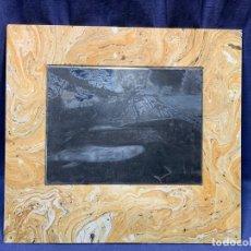 Arte: PLANCHA DE GRABADO ACERO GOLFISTA GOLF GREEN TEE ARBOLES PLANCHA ACERO 46X50CMS. Lote 217206905