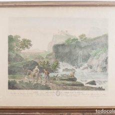 Arte: LE SOIR - J . VERNET_ J. CATHELIN 1780. Lote 217729837