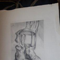 Arte: ANTIGUO GRABADO DE LUIS QUINTANILLA ISASI. Lote 217811407