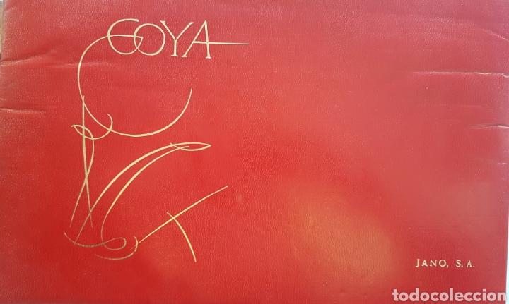 LA TAUROMAQUIA DE GOYA , 40 LAMINAS DE 34 X 49 CM. AÑOS 70 ENCUADERNACION EN PIEL. (Arte - Grabados - Contemporáneos siglo XX)