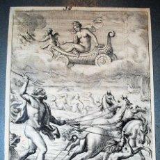 Arte: NEPTUNE AND VENUS . NEPTUNO Y VENUS. WENCESLAUS HOLLAR (1607 – 1677) MITOLOGÍA MYTHOLOGY. Lote 218486976