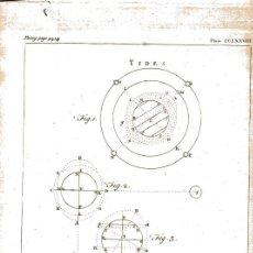Arte: GRABADO INGLÉS ORIGINAL 1763. TIDES . MAREAS.. Lote 218506561