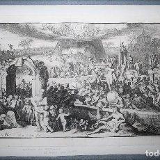 Arte: ROMEYN DE HOOGHE (1645-1708) TABULA CEBETIS / LA TABULA DE CEBES O EL VIAJE DE LA VIDA HUMANA.. Lote 218522173